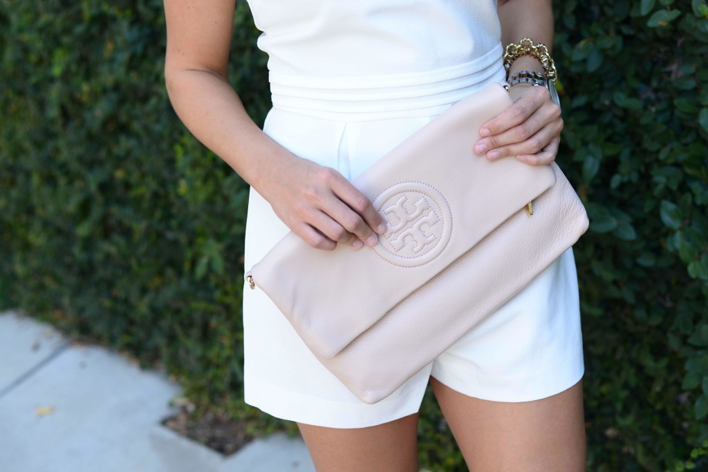 Tory Burch Bombe Foldover Clutch