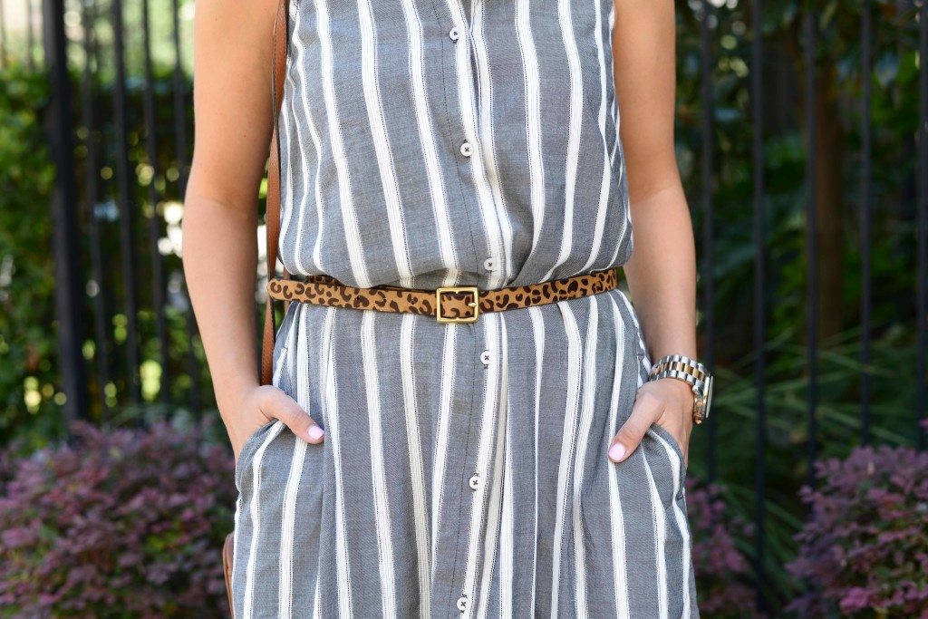 ANTHROPOLOGIE SLEEVELESS BUTTONDOWN TUNIC