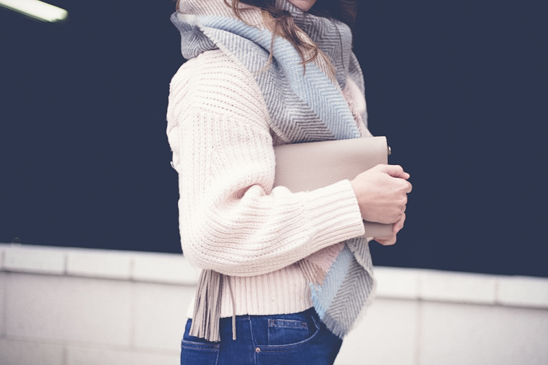 Topshop Cable Knit Sweater, Topshop Boyfriend Jeans, CABLE KNIT SWEATER