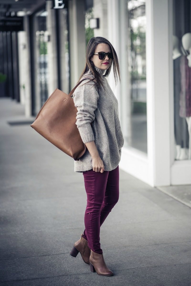FRENCH CONNECTION ORA MOCK NECK SWEATER - MOCK NECK SWEATER by Houston fashion blogger The Styled Fox