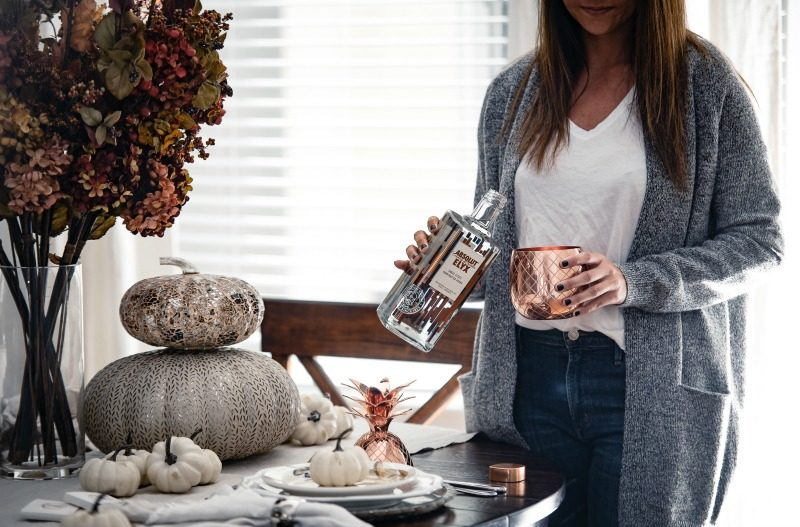 FALL ENTERTAINING WITH ABSOLUT ELYX by Houston style blogger The Styled Fox