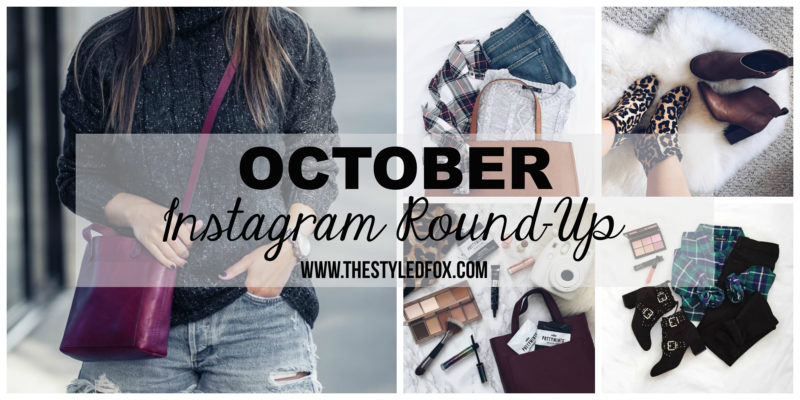 OCTOBER INSTAGRAM ROUND-UP