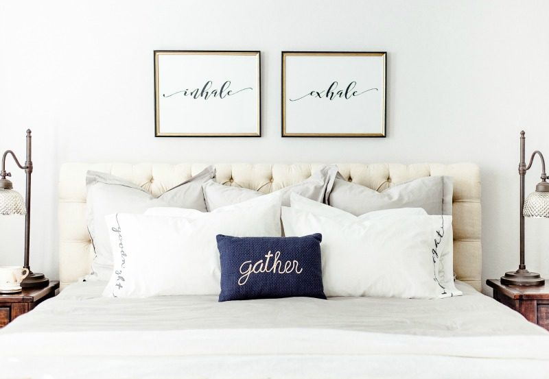 MASTER BEDROOM IDEAS by Houston style blogger The Styled Fox