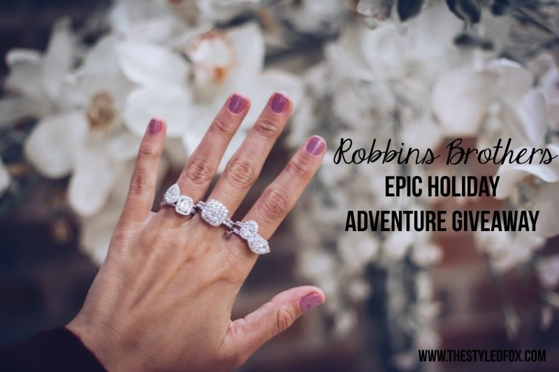 ROBBINS BROTHERS EPIC HOLIDAY ADVENTURE GIVEAWAY - ROBBINS BROTHERS JEWELRY EPIC HOLIDAY ADVENTURE GIVEAWAY by Houston fashion blogger The Styled Fox