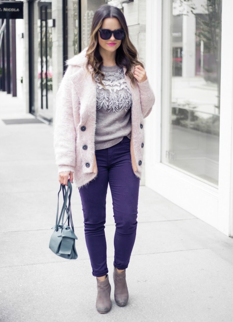 ANTHROPOLOGIE FRINGE PULLOVER SWEATER - FRINGE SWEATER by Houston fashion blogger The Styled Fox
