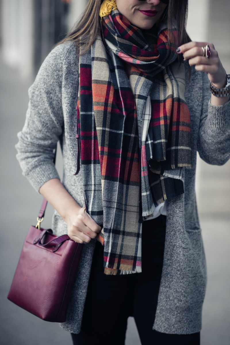 DREAMERS BY DEBUT COZY OPEN CARDIGAN by Houston fashion blogger The Styled Fox