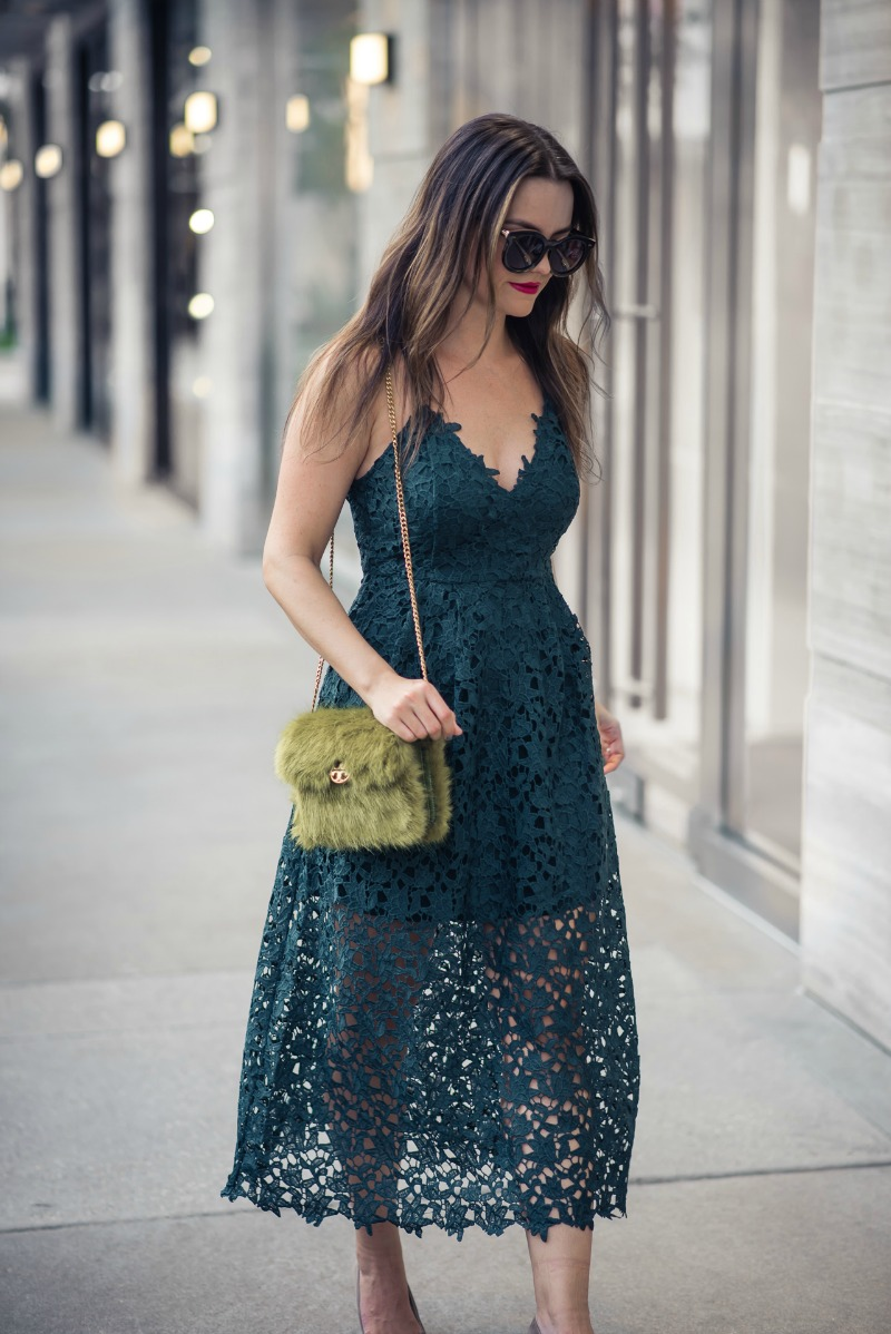 afdbb1a2490c ASTR THE LABEL LACE MIDI DRESS by Houston fashion blogger The Styled Fox