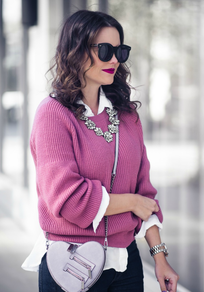 Line & Dot Harley Boat Neck Sweater, Anthropologie - BOAT NECK SWEATER by popular Houston style blogger The Styled Fox