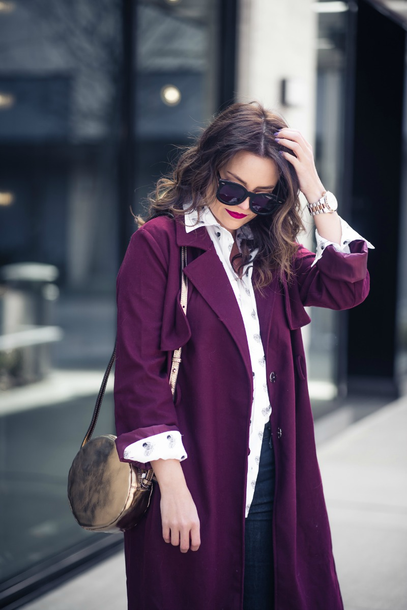 EQUIPMENT Signature Heart Print Silk Shirt, NORDSTROM by popular Houston fashion blogger The Styled Fox
