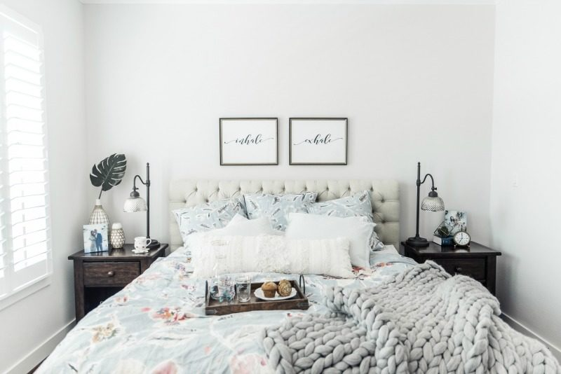 ELEMENTS OF A COZY MASTER BEDROOM, SPRING HOME DECOR TRENDS, ANTHROPOLOGIE  X NORDSTROM COLLABORATION
