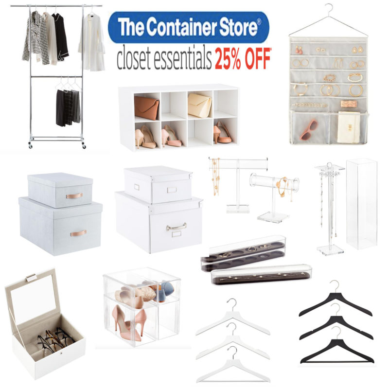 THE CONTAINER STORE SALE By Popular Houston Style Blogger The Styled Fox