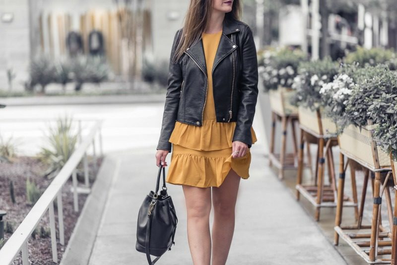 8af906510 The Faux Leather Jacket | Houston Fashion Blog | The Styled Fox