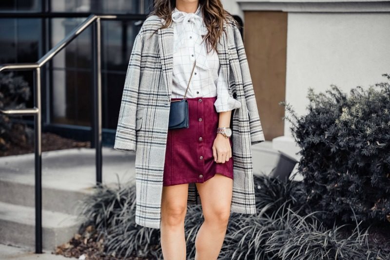 6ba3a2ea27 Madewell Plaid Bryant Coat, Madewell Tie Neck Flannel Blouse, JACK Can't Buy