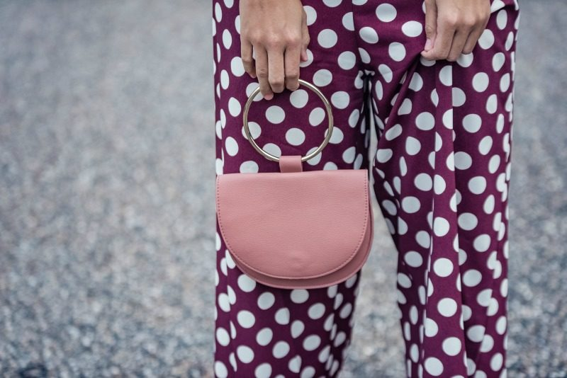 the latest 0de43 8cdfc Topshop Polka Dot Jumpsuit The best polkq dot clothing for fall featured by  top US fashion