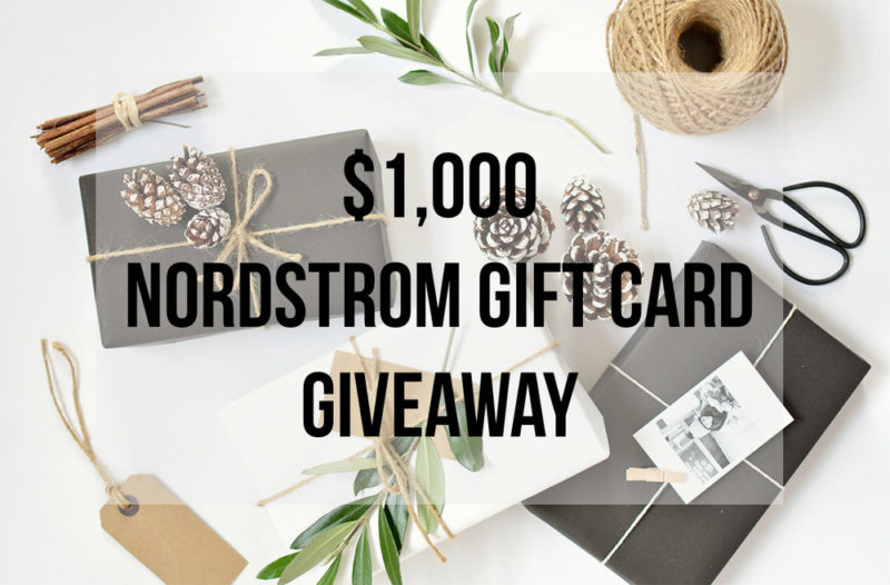 Nordstrom card giveaway featured by top Las Vegas fashion blog, Outfits & Outings