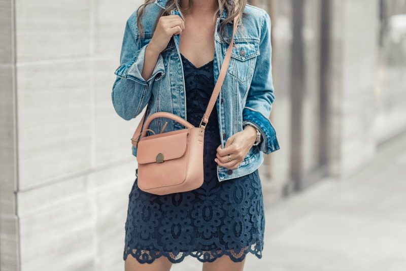 How To Dress Down A Lace Dress Fashion The Styled Fox