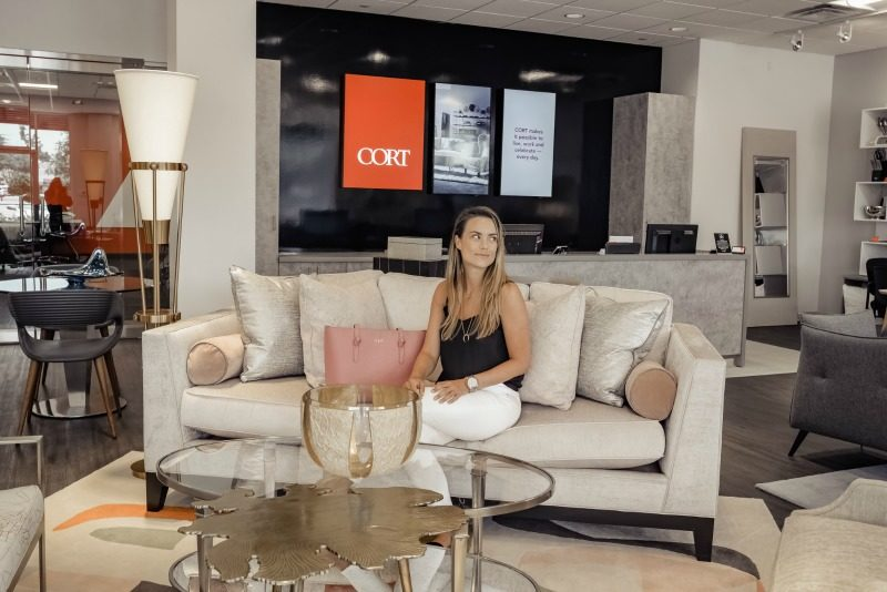 Moving Made Easy With Cort Furniture Home The Styled Fox